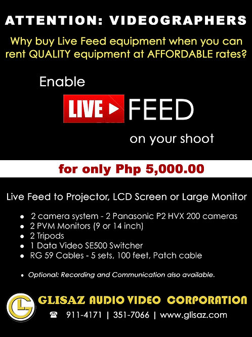 Live Feed Package