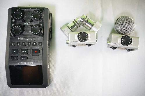 Zoom H6 Handy Recorder - Six Track Recorder