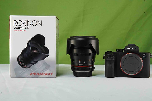 Rokinon 24mm T1.5 Cine DS Lens for Canon EF Mount