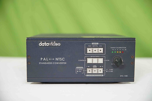 Datavideo STC-100 Standards Converter - NTSC to PAL, PAL to NTSC, Component, Com