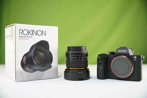 Rokinon 8mm f/3.5 HD Fisheye Lens