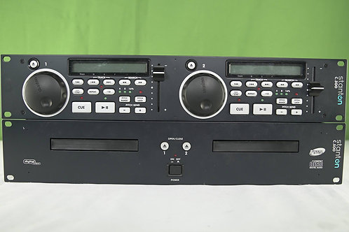 Stanton C.502 Dual 2U Rack-Mountable CD Player with MP3 Playback