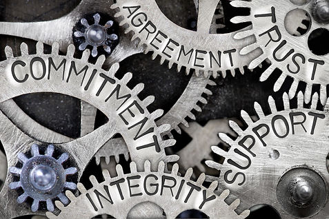 Commitment Integrity Trust & Support