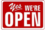 Yes were open.png