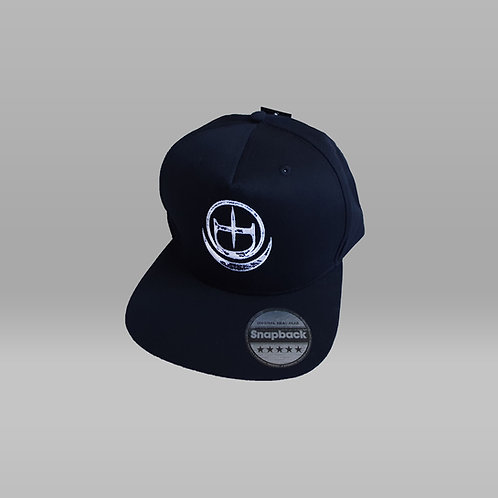 Embroidered Crescent Logo Snapback