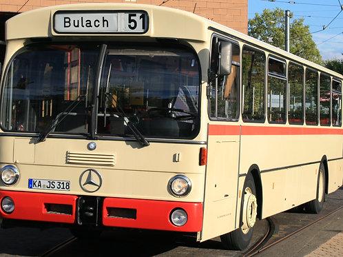 Gutschein für Stadtrundfahrt per Bus