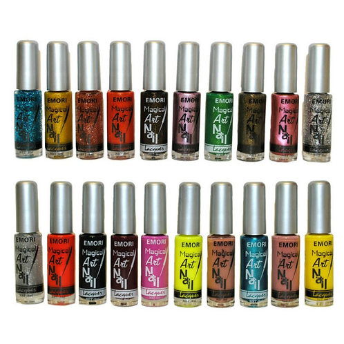 Nail Art Polish (50 Colors)