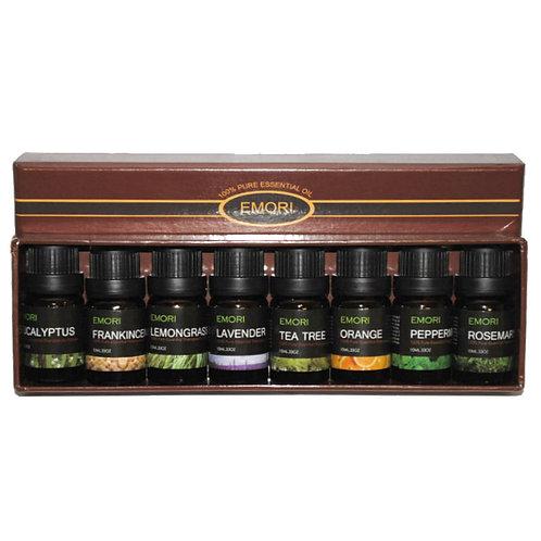 Top 8 100% Pure Essential Oil Set 10ml Therapeutic Grade