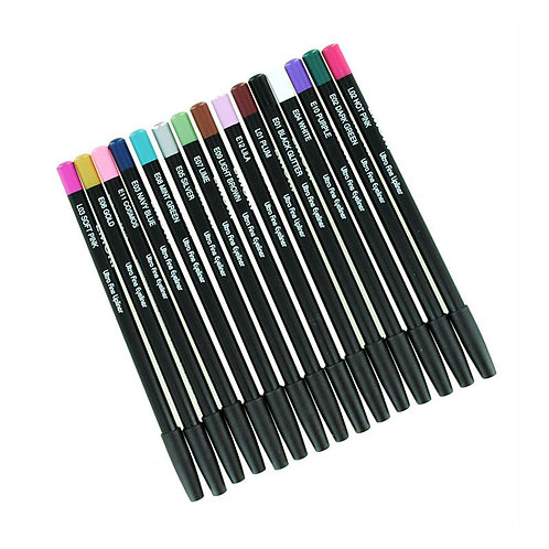 15 Color Lip liners and Eyeliners Pencil Set