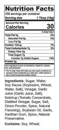 1 gal General Tso Nutrition & ingred.jpg