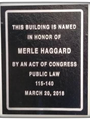 Merle Haggard Post Office