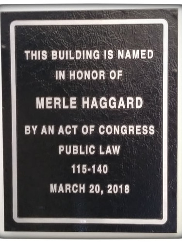 Merle Haggard Post Office