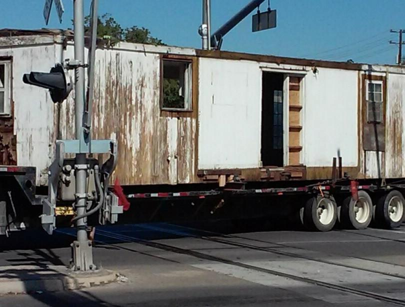 Merle Haggard's childhood boxcar home