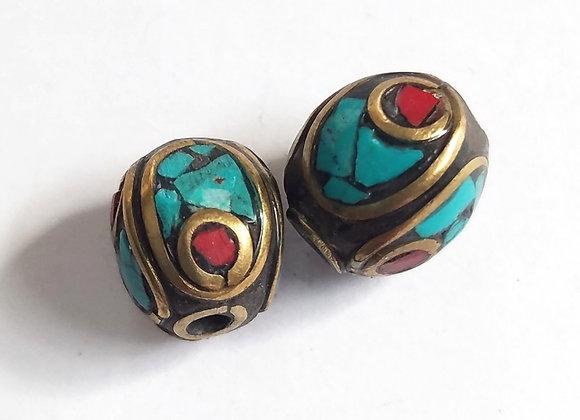 Small Inlay Beads
