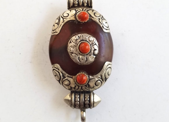 Tibetan Carnelian Pendant