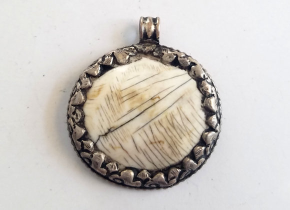 Tibetan Conch Shell Pendant