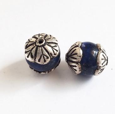 Tibetan Beads Lapis
