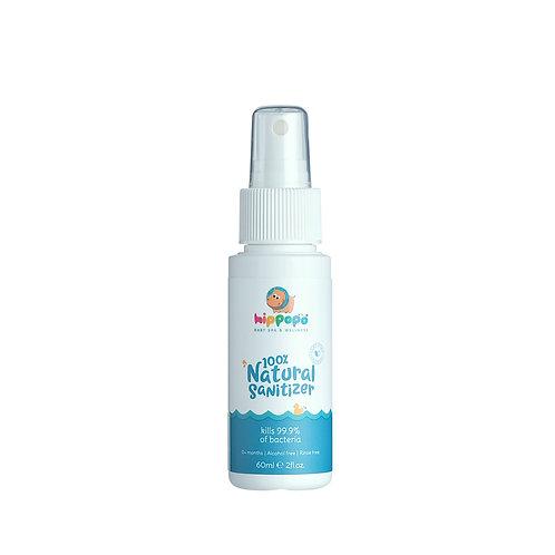 100% Natural Sanitizer 60ml