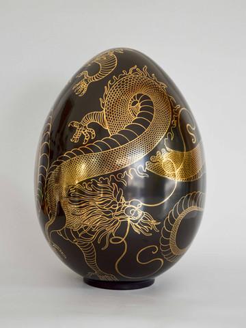 Diptych Reptilian eggs