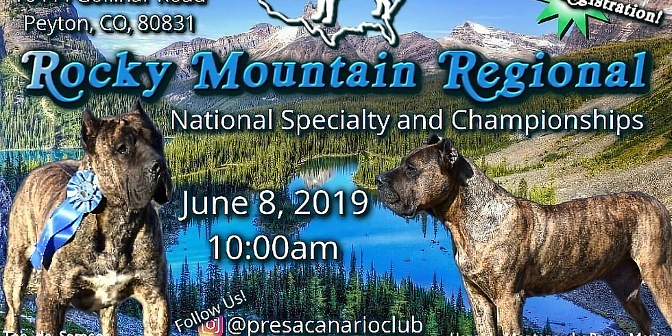PCCA 2019 Rocky Mountain Specialty and Championships