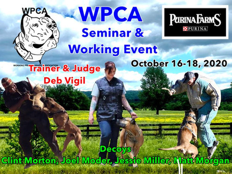 WPCA SEMINAR AND TITLE EVENT!