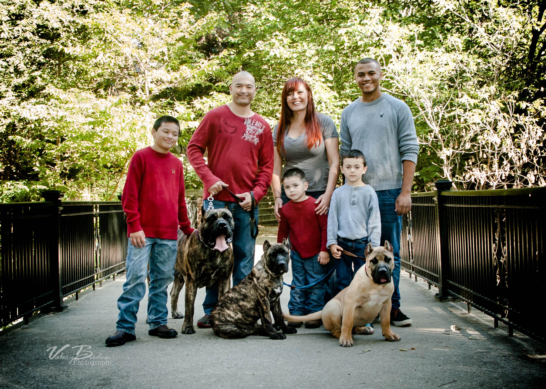 Presa Canario and family