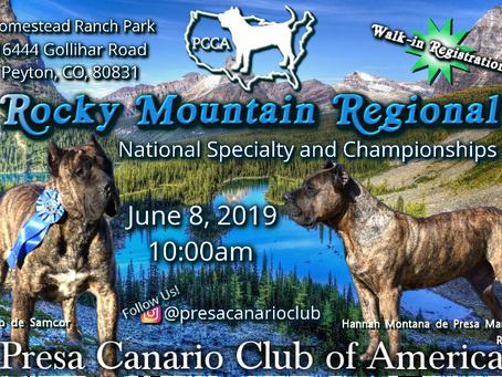 2019 Rocky Mountain Regional