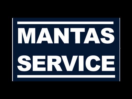 Mantas Service - Gold Sponsor