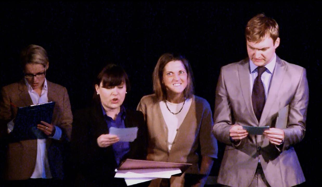Colleen Daley, Miranda Dawe, Ian Curran & Rachal Olivant in Grit