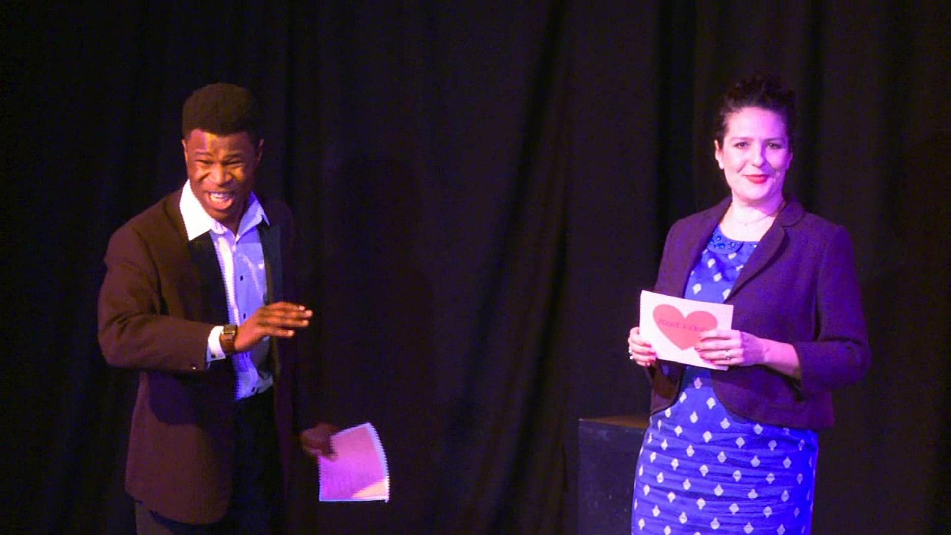 Jonathan Akingba & Caroline Loncq in Heart's Desire