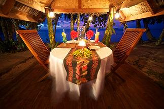 Dinner on the beach, Beqa Lagoon Resort, Fiji