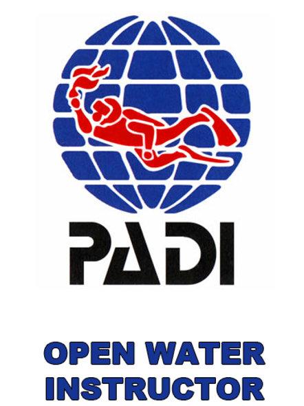 PADI OPEN WATER INSTRUCTOR