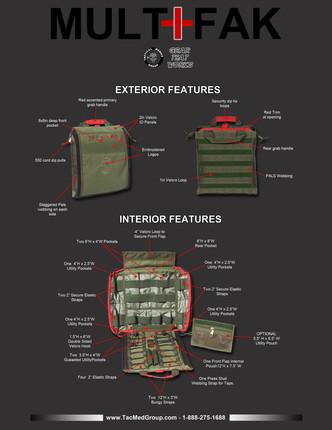 MULTIFAK - Mega IFAK kits are in!