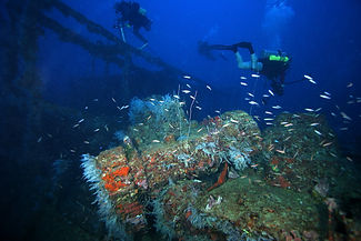 San Francisco Maru Wreck, Chuuk Lagoon