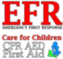 , Emergency First Response, EFR  Care for Children