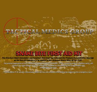 Premium Snake Bite First Aid