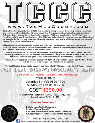 Tactical Combat Casualty Care (TCCC) Feb 2014