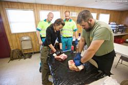 Netherland Paramedics look on