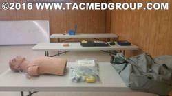 TCCC Skill stations