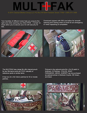 SF Medic, Tactical Medic, IFAK, Mega IFAK, Tactical Pouch, Tactical Bag, Tactical Operator