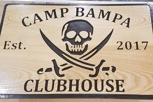 Clubhouse /  Treehouse Sign