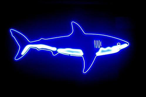 LED Neon Shark