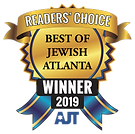 2019 Winner Ribbon Best Of Atlanta Jewish Times Village Orthodontics Dr Bret Freeedman