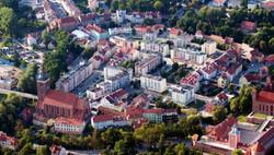 Stare Miasto w Lidzbarku Warm.