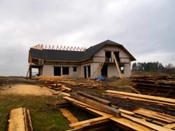 Budowa domu całorocznego w 2007 r.