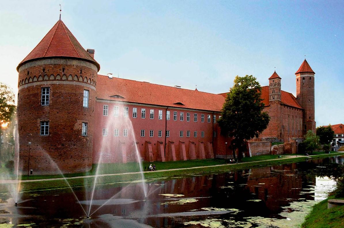 Zamek w Lidzbarku Warm.