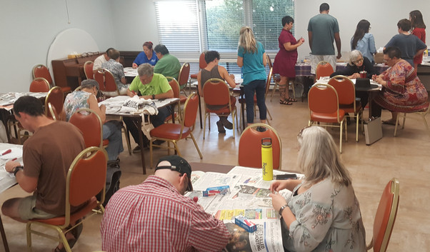 A busy participation event