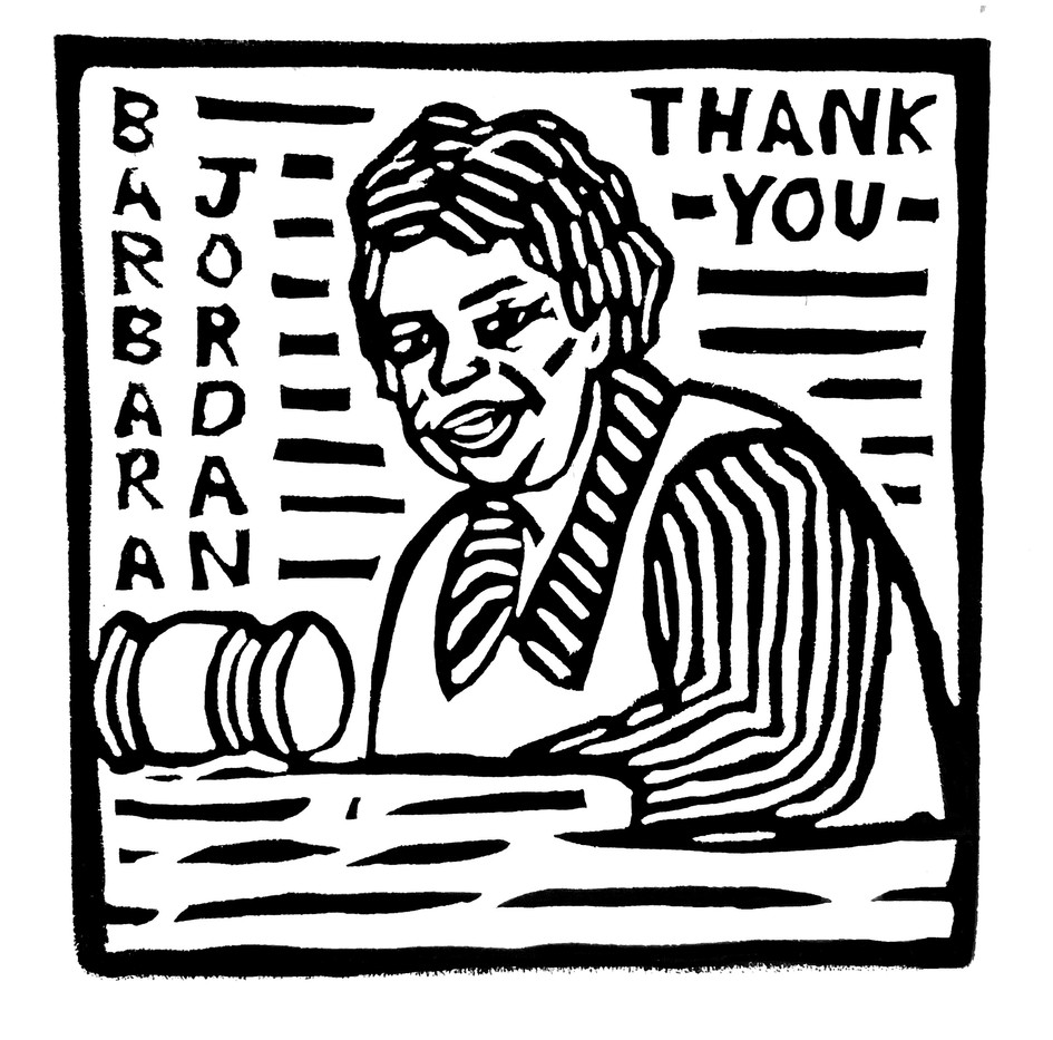 Barbara Jordan by Elly Dallas