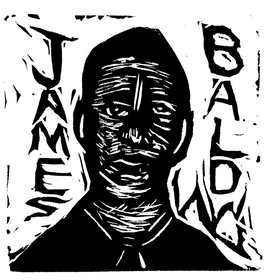 James Baldwin by Camron Gray