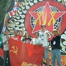 2004 - Encontro Internacional das Juventudes Antiimperialistas e Antifascistas (México)